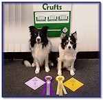 Rex & Granny Bliss - VHC & 3rd - Crufts 2015